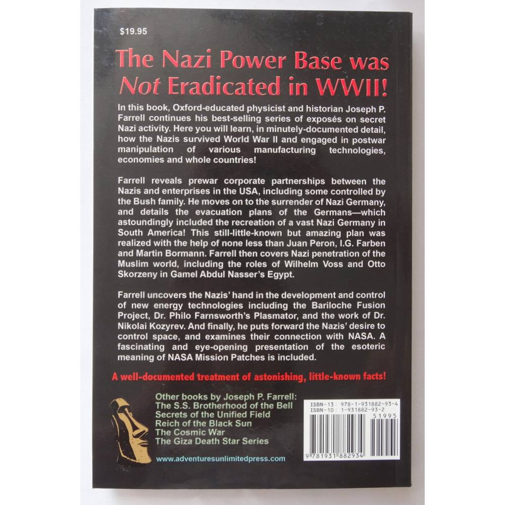 Nazi International - The Nazis' Postwar Plan to Control Finance, Conflict,  Physics and Space | Oxfam GB | Oxfam's Online Shop