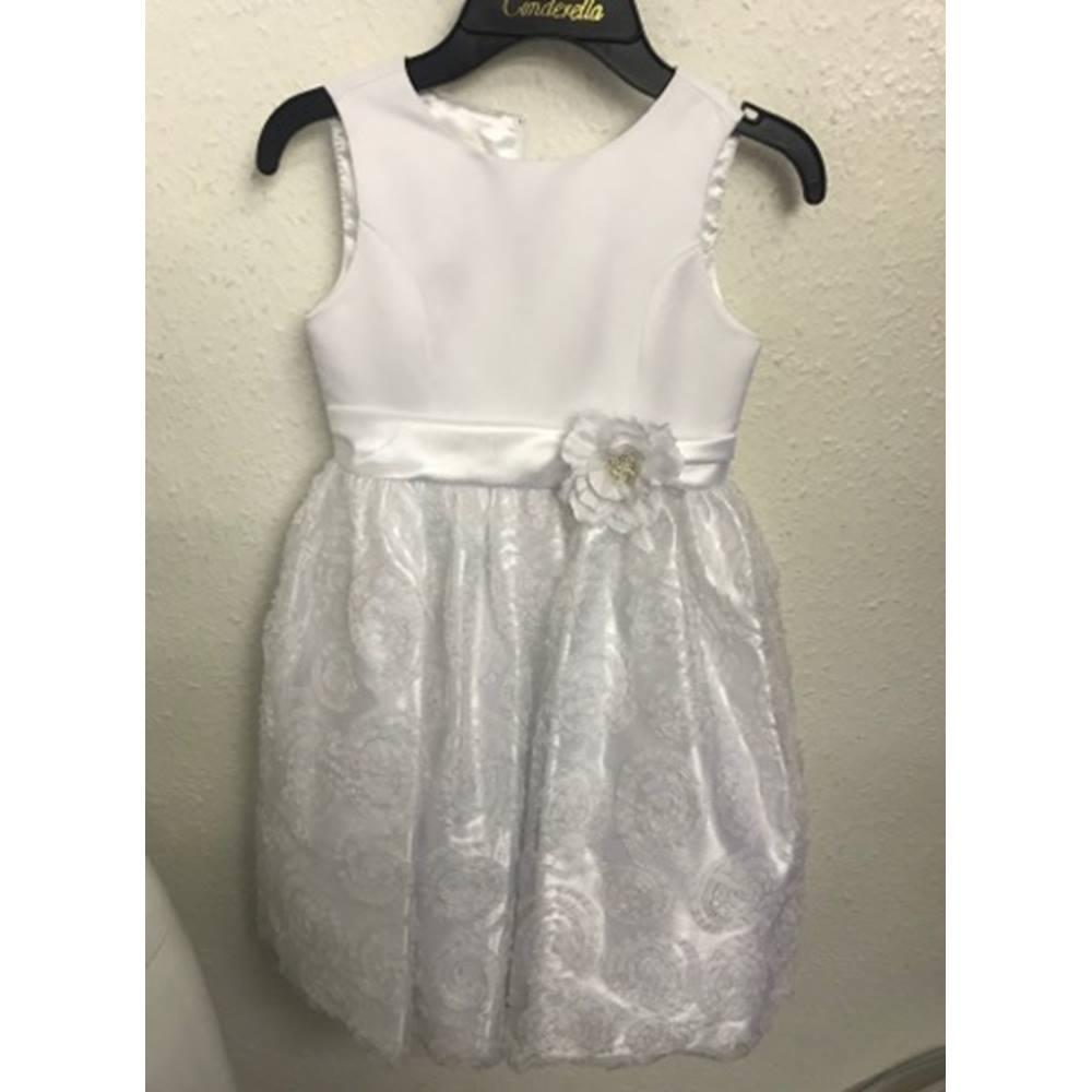 Cinderella Bridesmaid Dress Cinderella - Size: Age 7 - White for sale  Richmond
