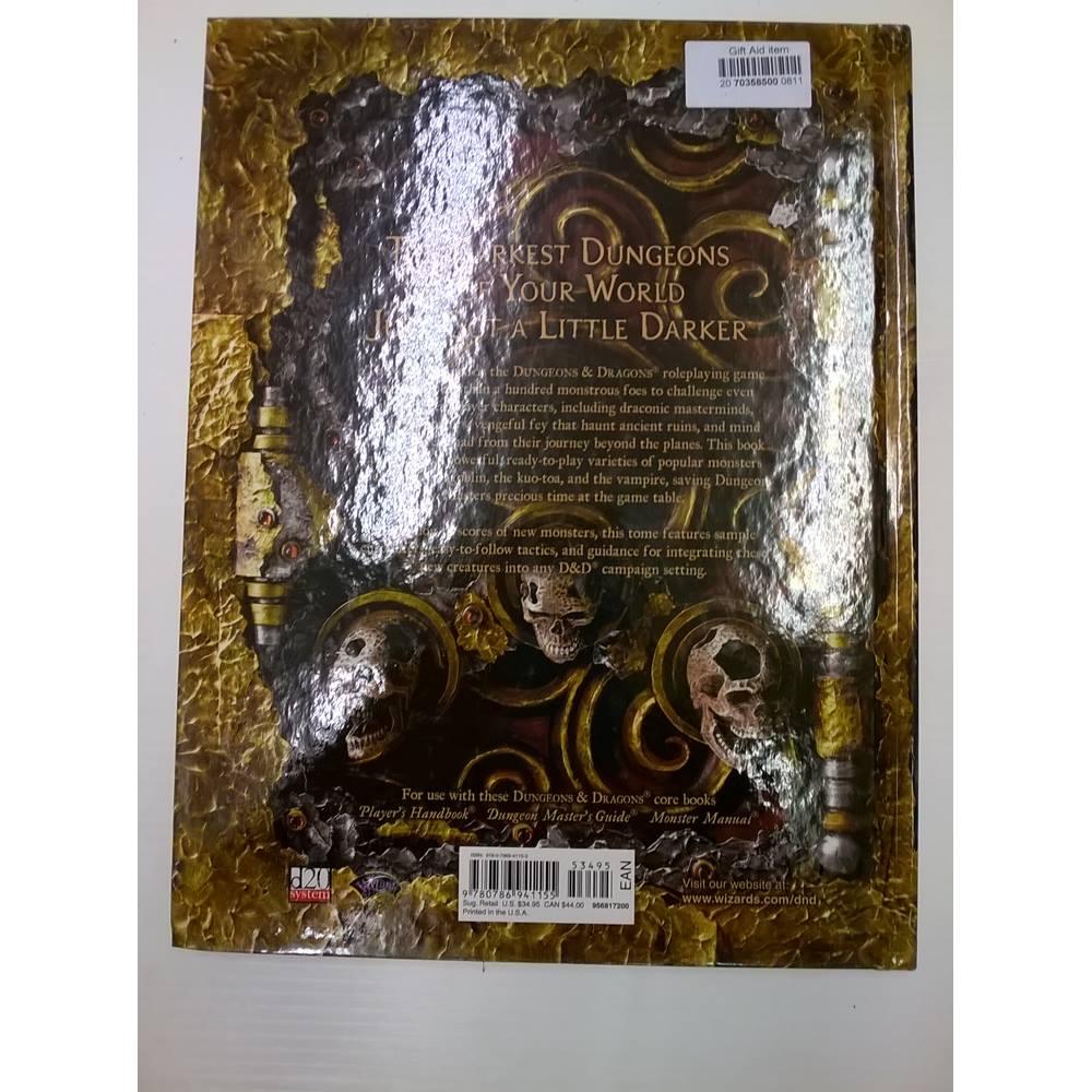 Dungeons & Dragons Monster manual V | Oxfam GB | Oxfam's Online Shop