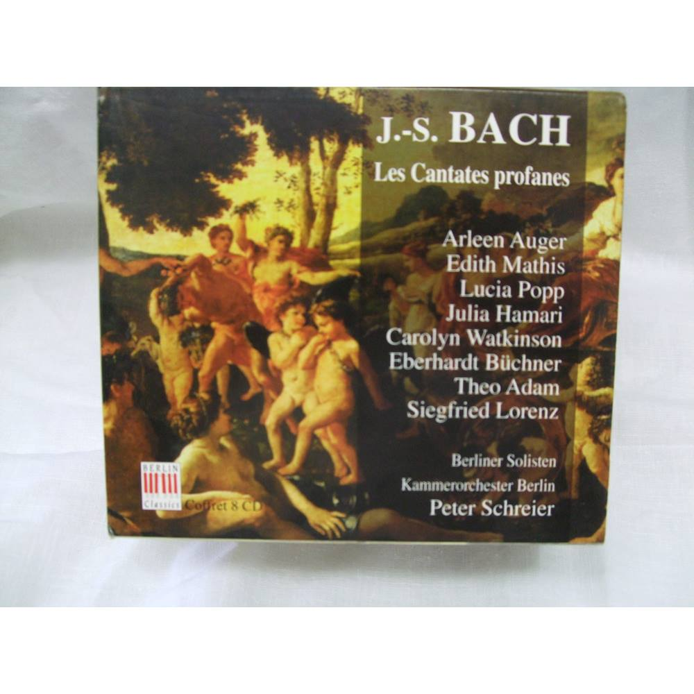 J S Bach- les Cantates Profanes-8 CD set, used for sale  Cardiff