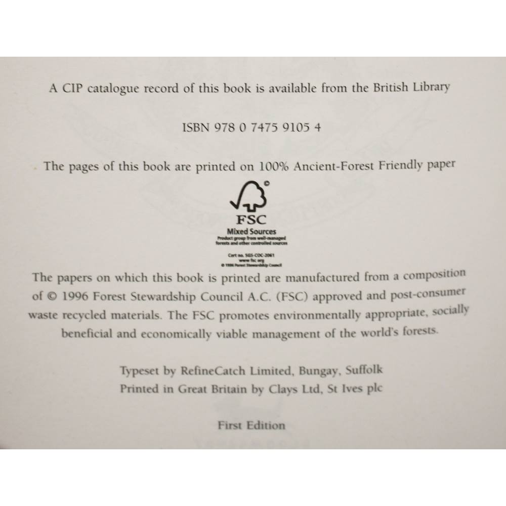 Harry Potter And The Deathly Hallows - First Edition | Oxfam GB | Oxfam's  Online Shop