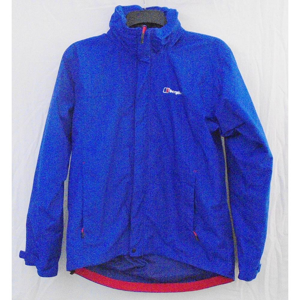 sports shoes 273b3 eb7f4 Berghaus blue waterproof activity jacket Size S | Oxfam GB | Oxfam's Online  Shop