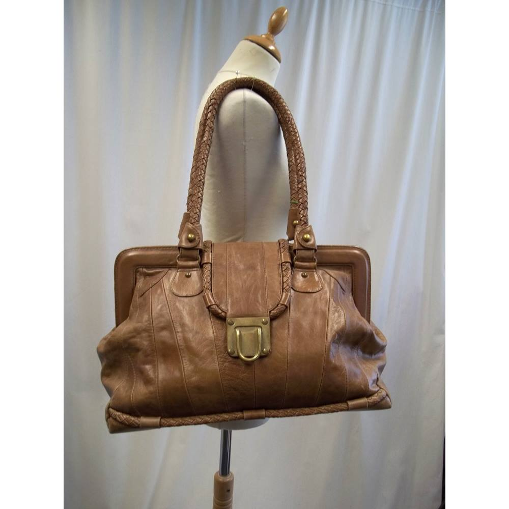 Jocasi London Size L Brown Leather Weekend Bag For In Truro Preloved