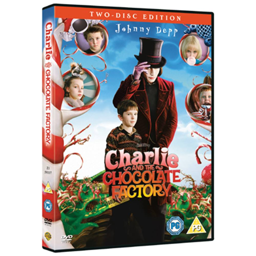 Preview of the first image of CHARLIE AND THE CHOCOLATE FACTORY CERT PG.