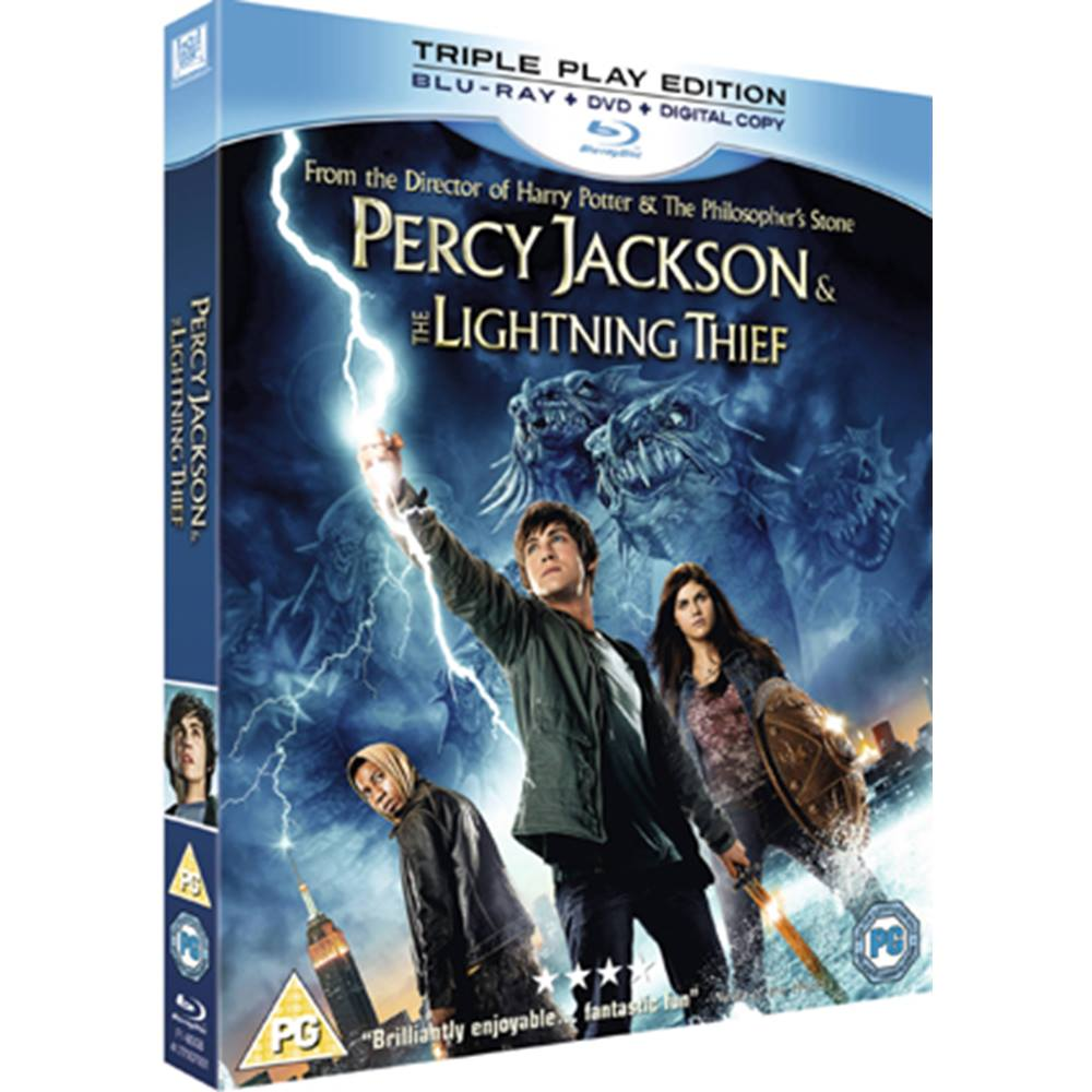 Preview of the first image of PERCY JACKSON AND THE LIGHTNING THIEF PG.