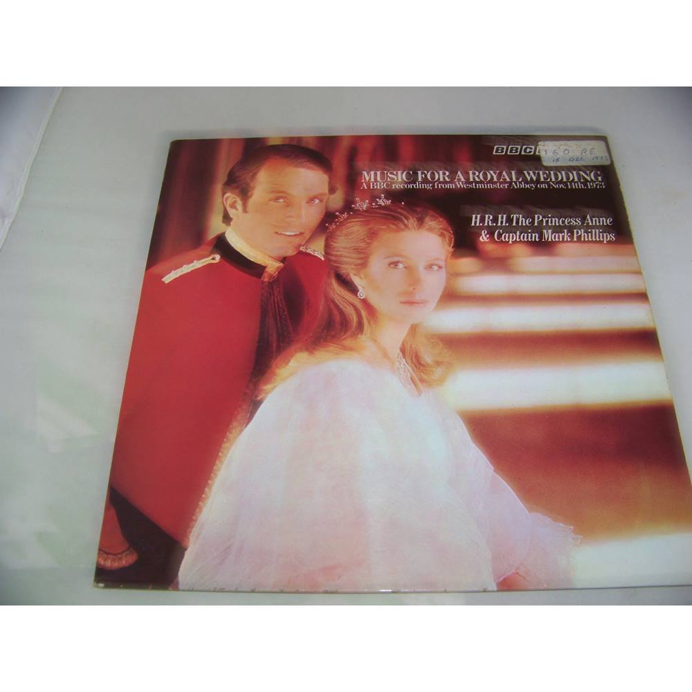 Preview of the first image of Music for a Royal Wedding - Princess Anne and Mark Phillips 1973 - BBC records - rew 163 - LP.