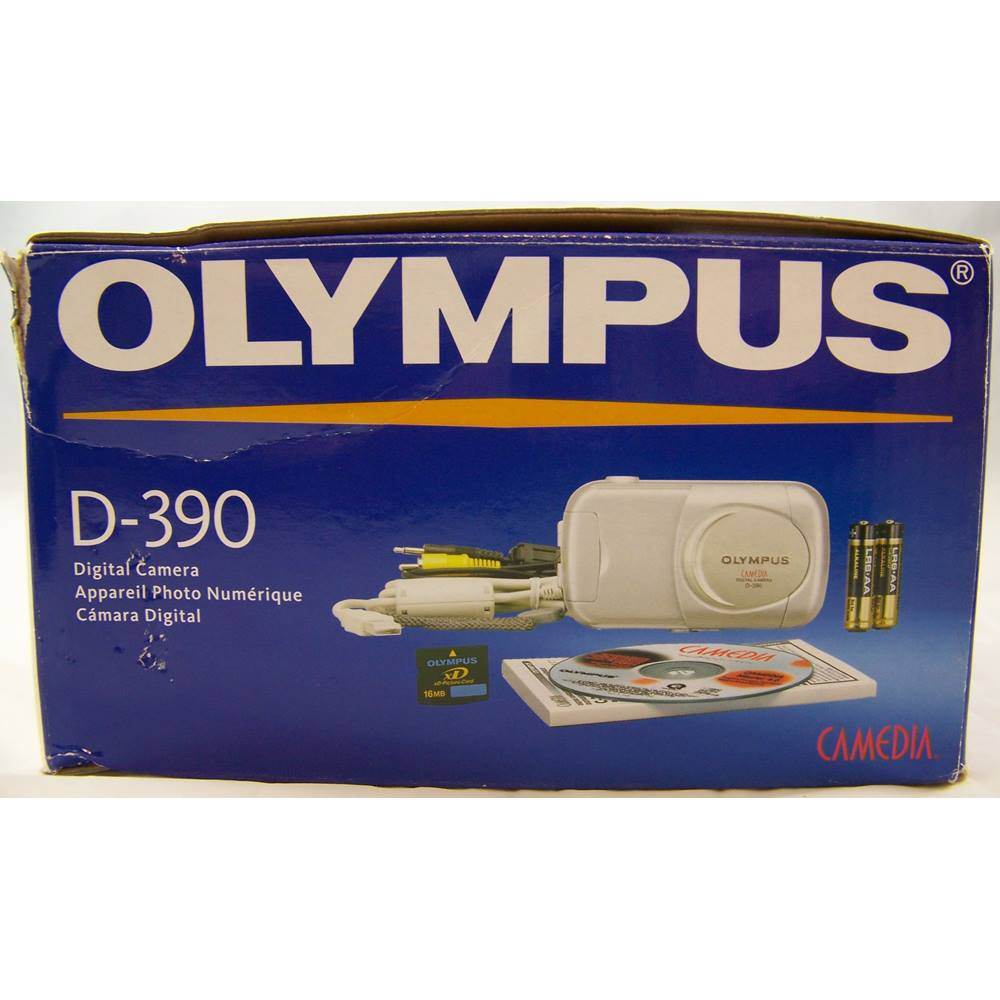 Preview of the first image of Olympus D-390 2MP Digital Camera Kit..