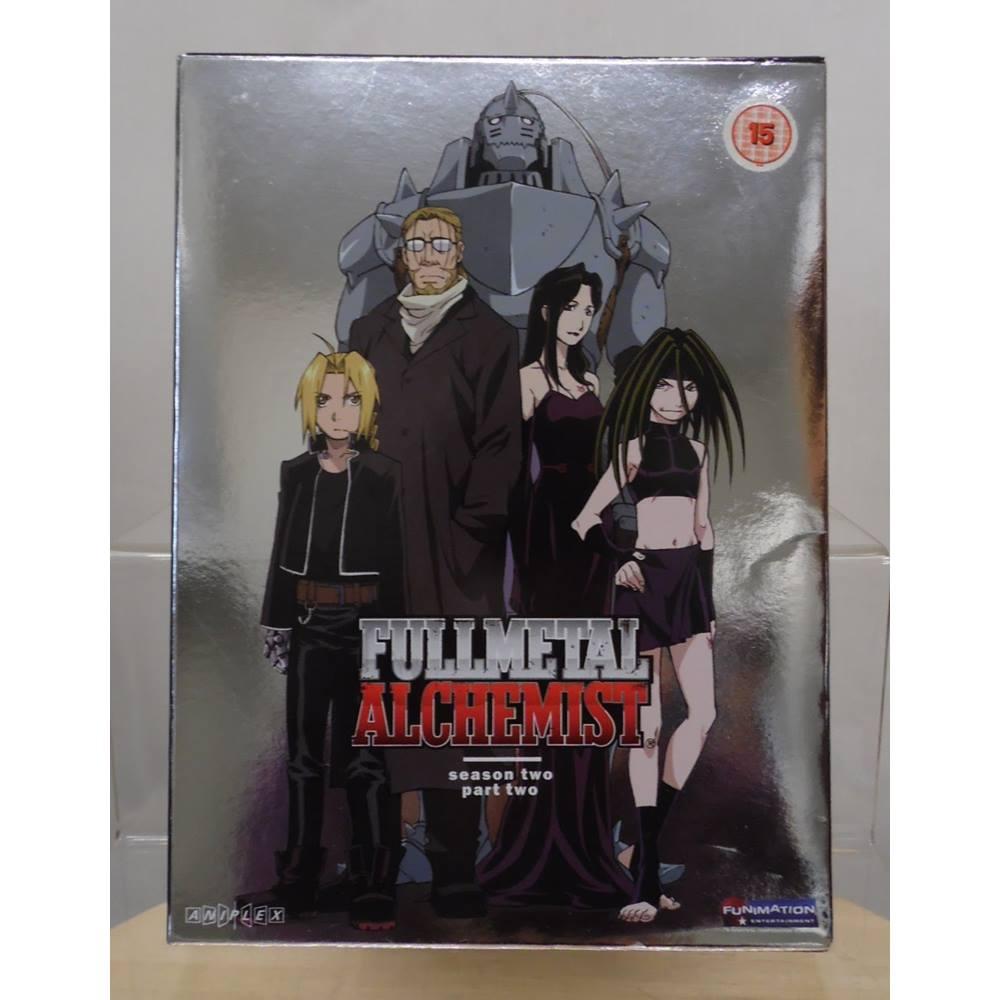 FULLMETAL ALCHEMIST SEASON 2 - PART 2 - DVD   Oxfam GB ...