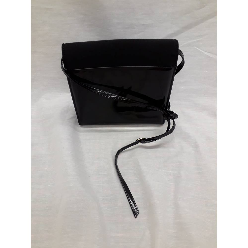 Lorbac Black Leather Bag Lorbac Size M Black Oxfam Gb Oxfam S Online Shop
