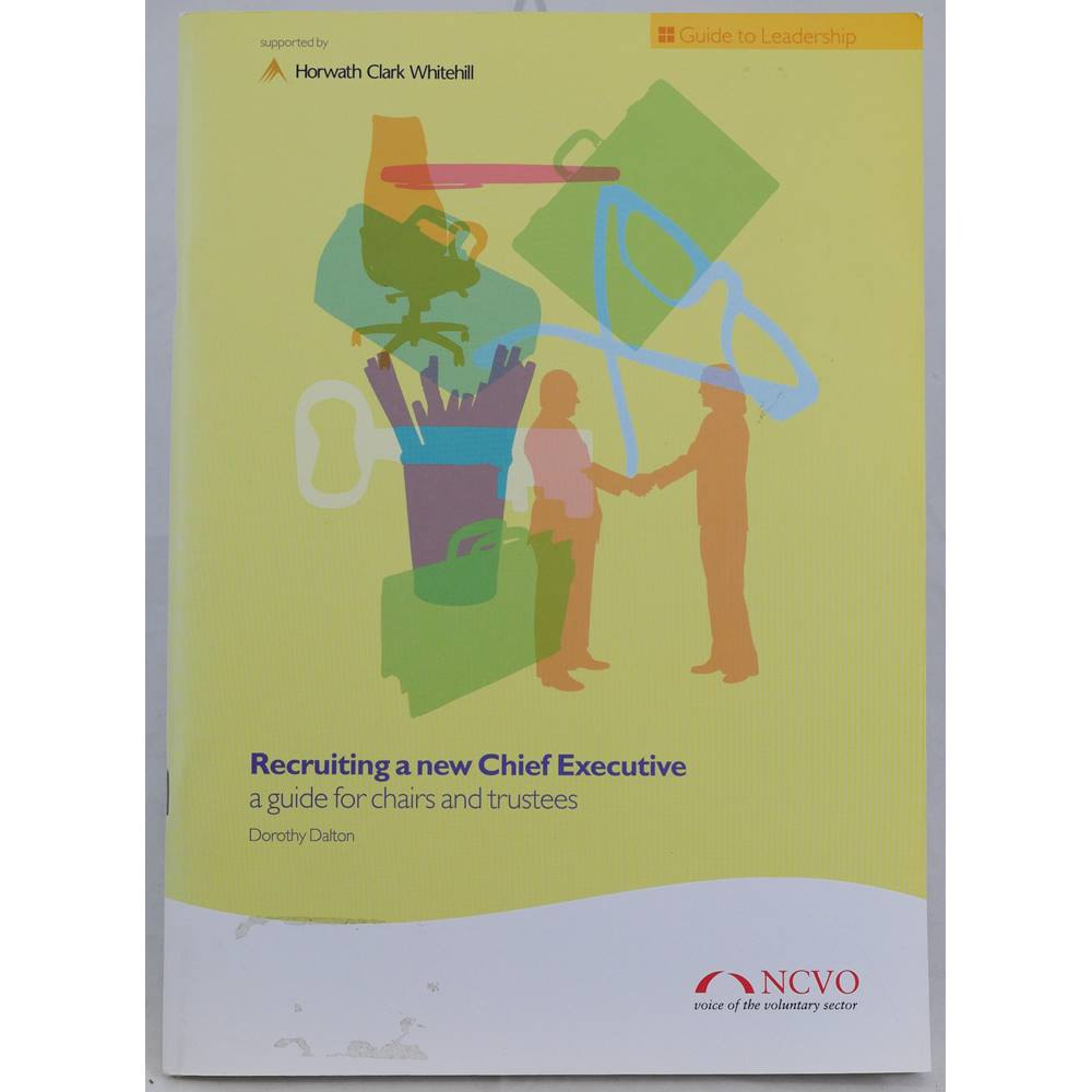 Preview of the first image of Recruiting a New Chief Executive: A Guide for Chairs and Trustees.