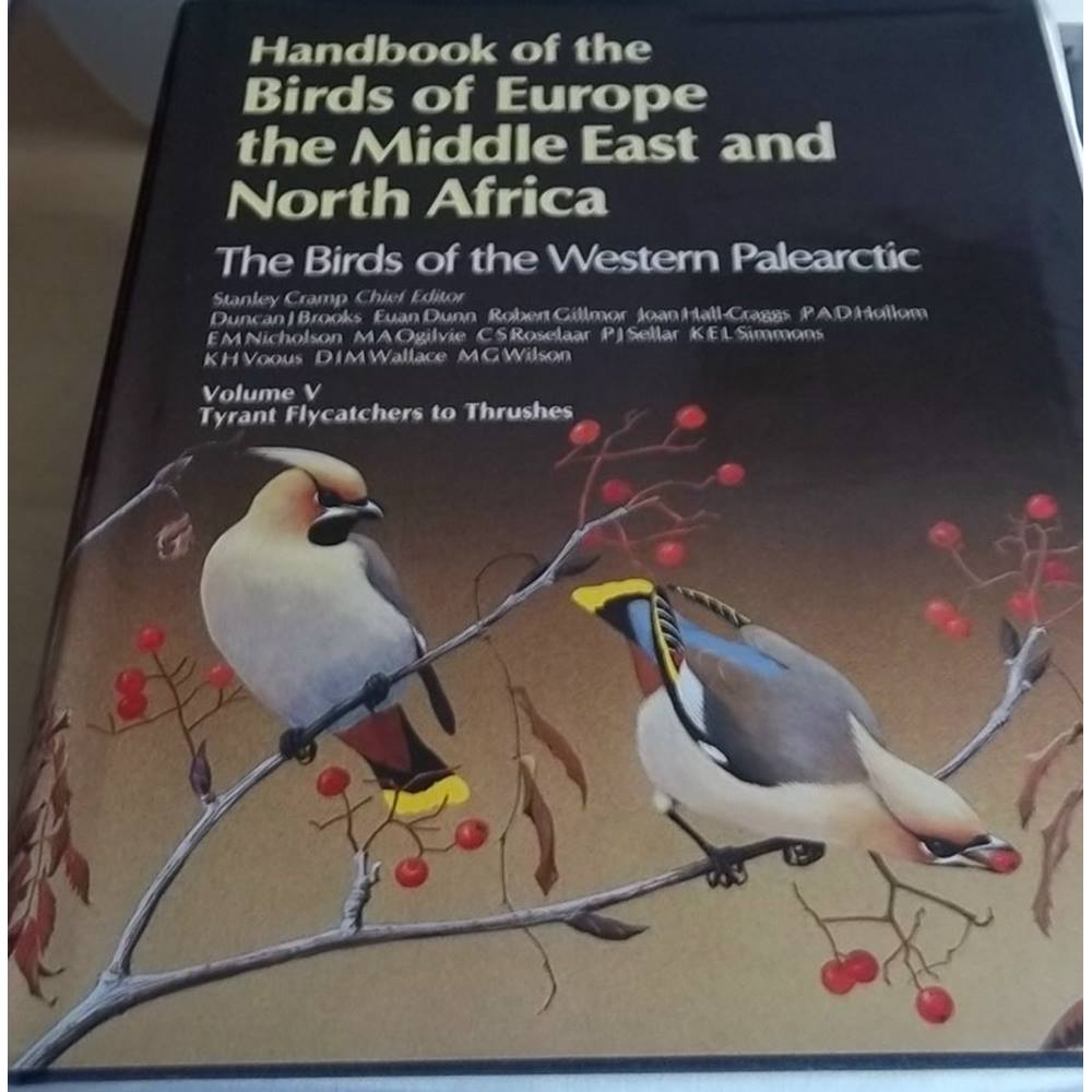 Preview of the first image of Handbook the birds of Europe Middle East & North Africa The Birds of the Western Paleartic vol 5 ....
