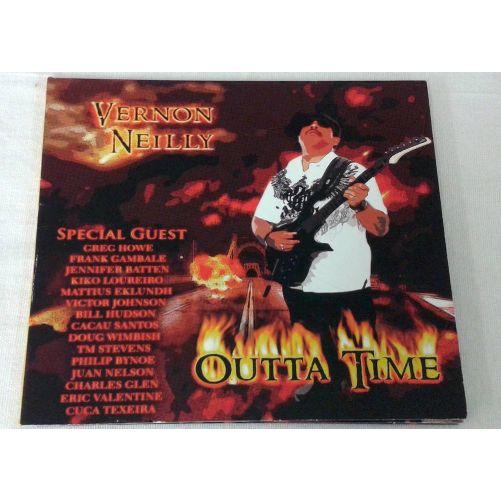 Preview of the first image of Vernon Neilly - Outta Time CD.