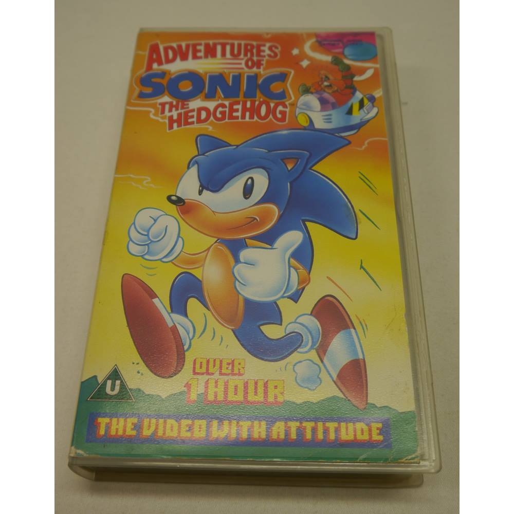 Adventures Of Sonic The Hedgehog Vhs 1993 For Sale In York North Yorkshire Preloved