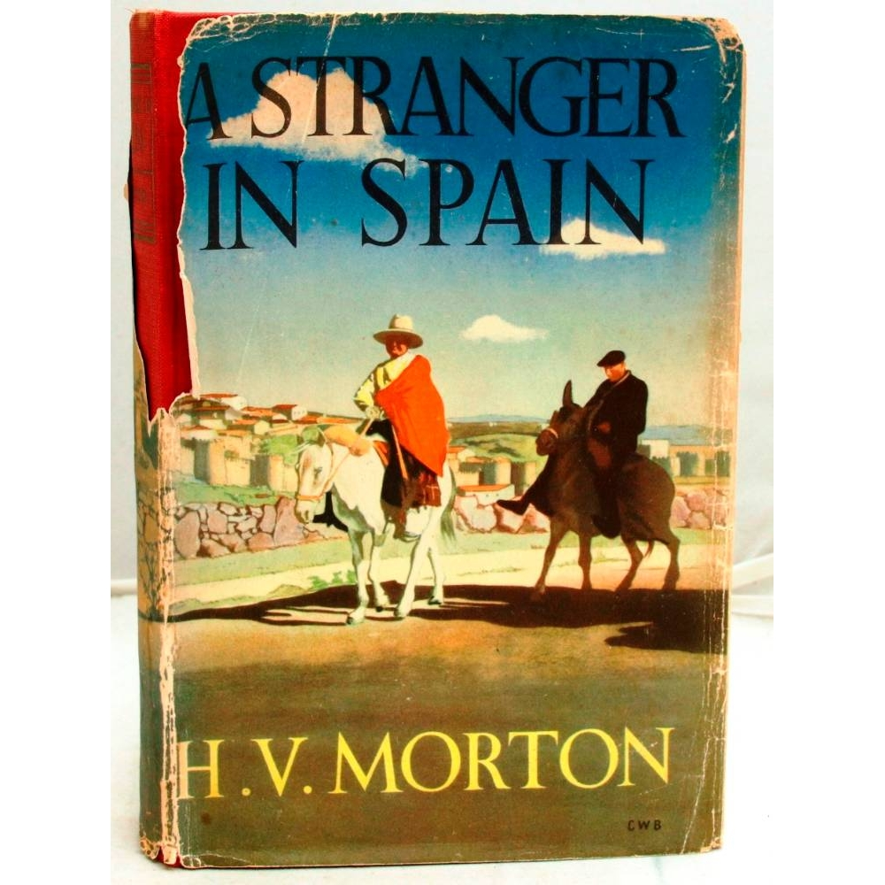 Preview of the first image of A Stranger In Spain.