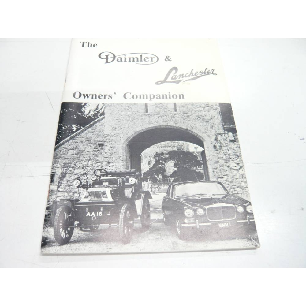 Preview of the first image of The Daimler and Lanchester Owners' Companion 1981.