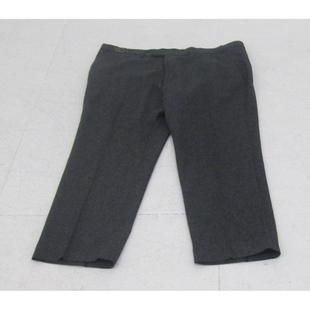 """Preview of the first image of M&S Collection wool trousers grey Size: 42""""."""