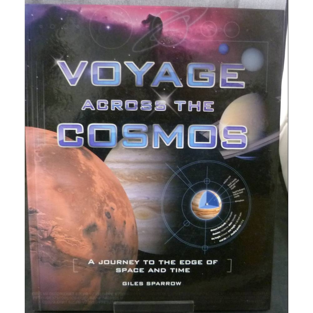 Preview of the first image of Voyage Across the Cosmos - A Journey to the Edge of Space and Time.