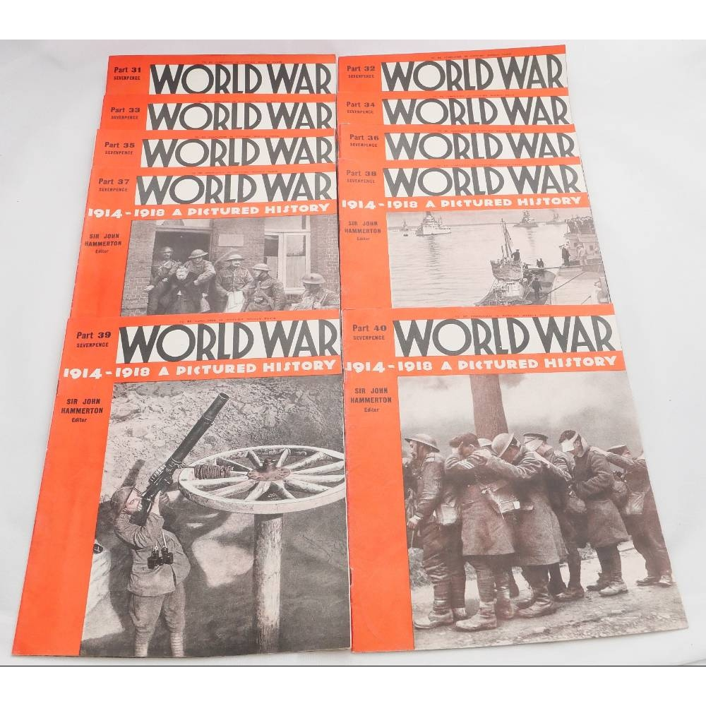 Preview of the first image of World War 1914-1918 A Pictured History Parts 31-40.