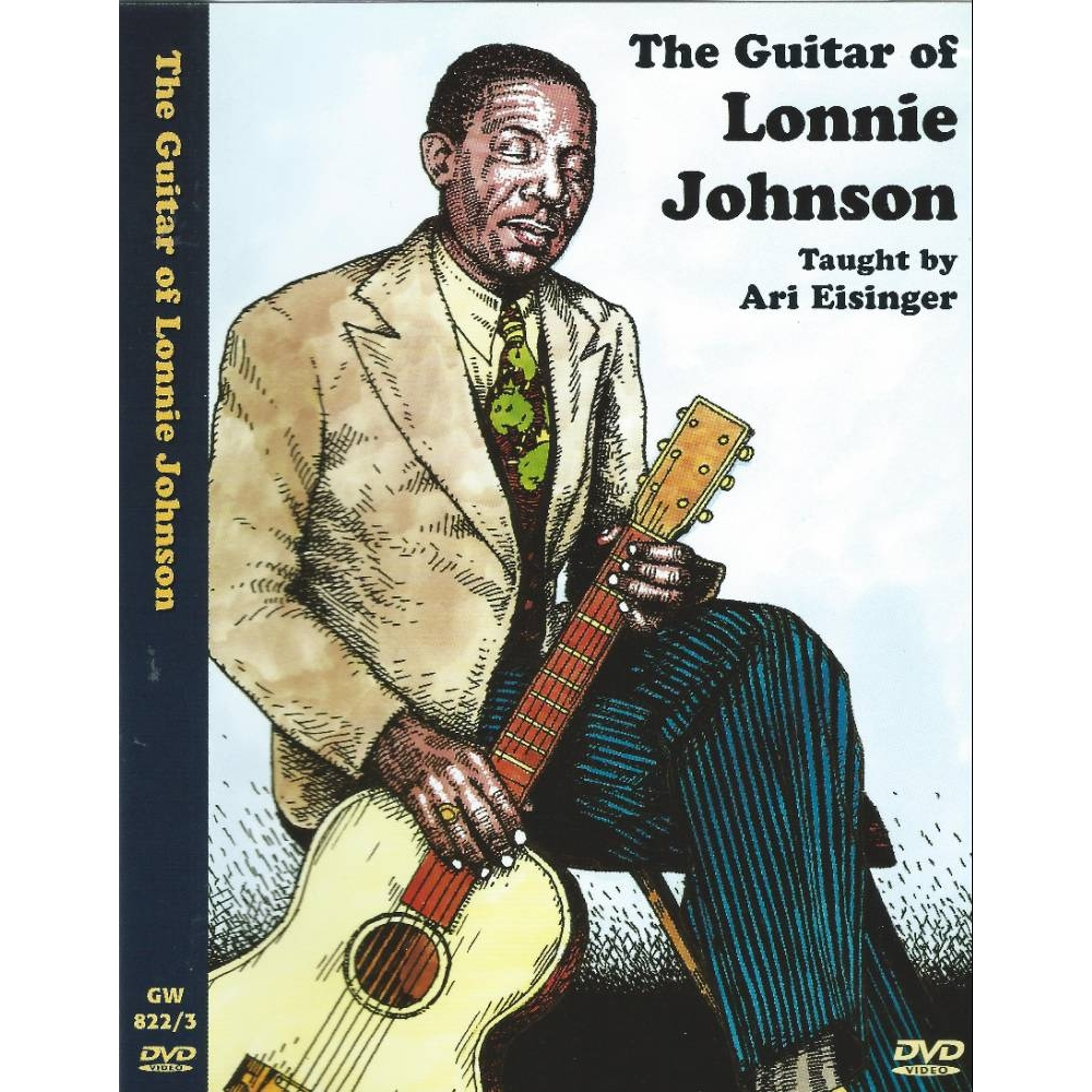 Preview of the first image of The Guitar of Lonnie Johnson, Taught by Ari Eisinger.