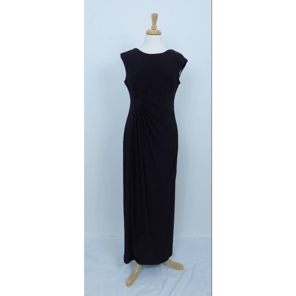 Preview of the first image of Ronni Nicole Evening Dress Black Size: 8.