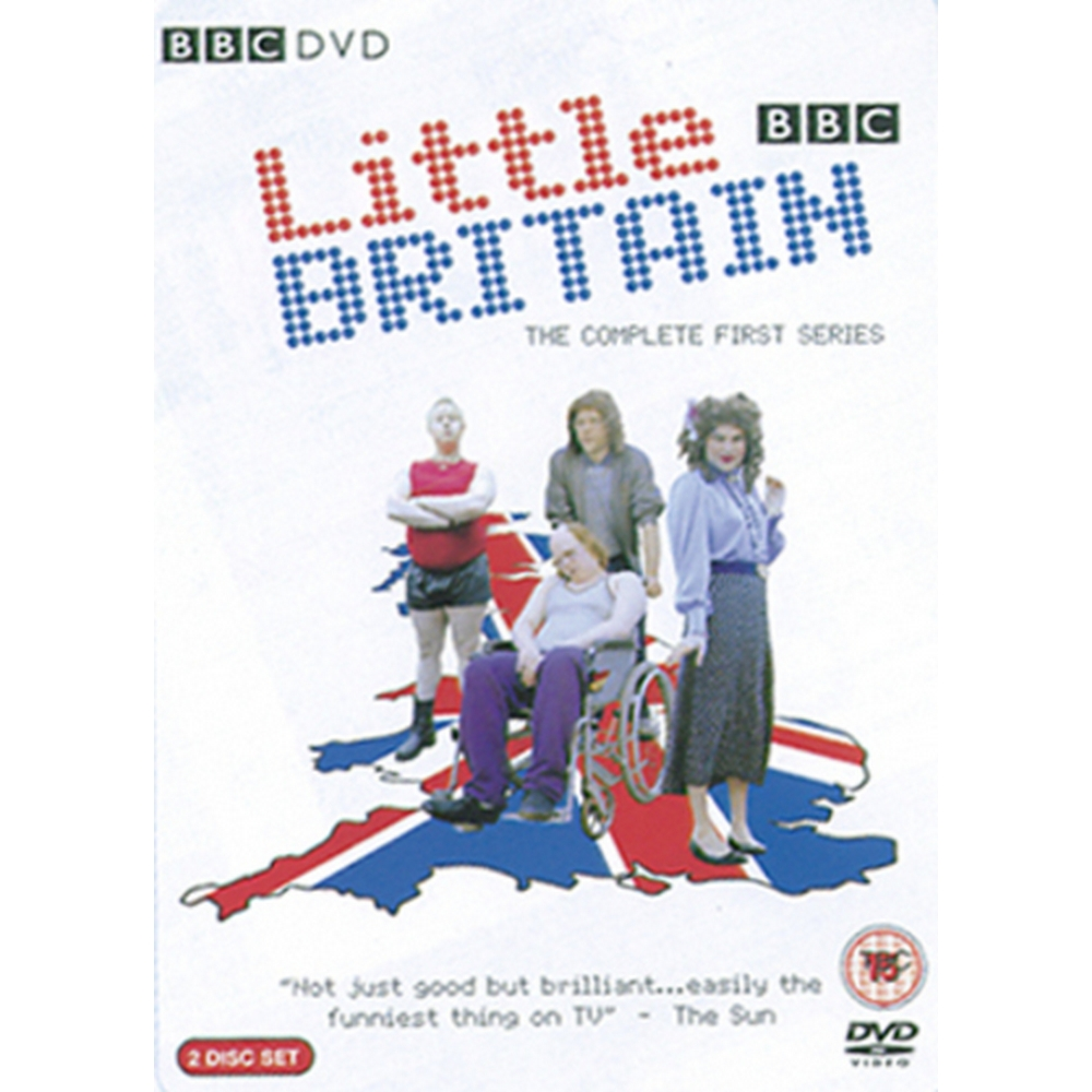 Preview of the first image of Double DVD Little Britain: Series 1.
