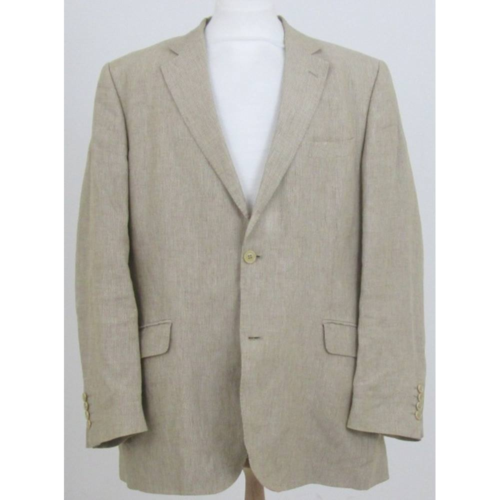 Mens Linen Jacket Second Hand Men S Clothing Buy And Sell Preloved