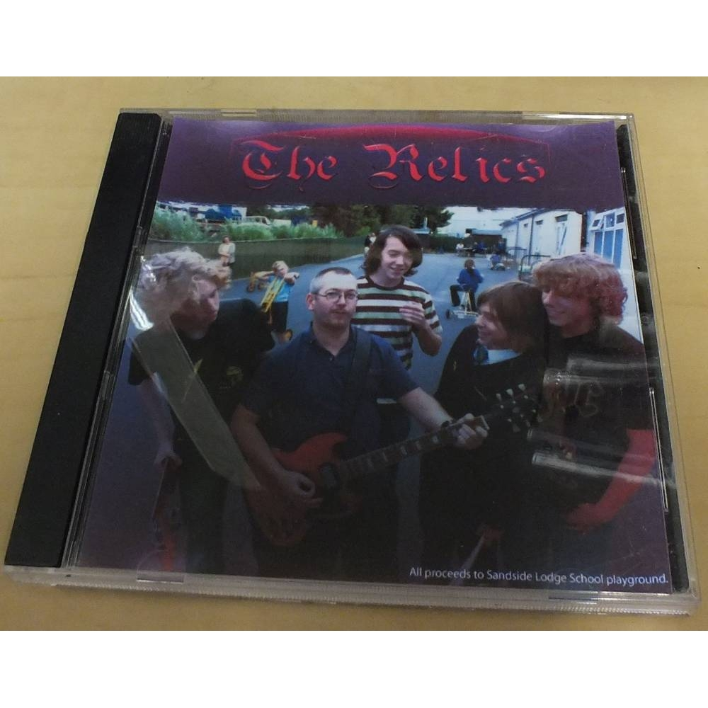 Preview of the first image of Single - The Relics - CD.
