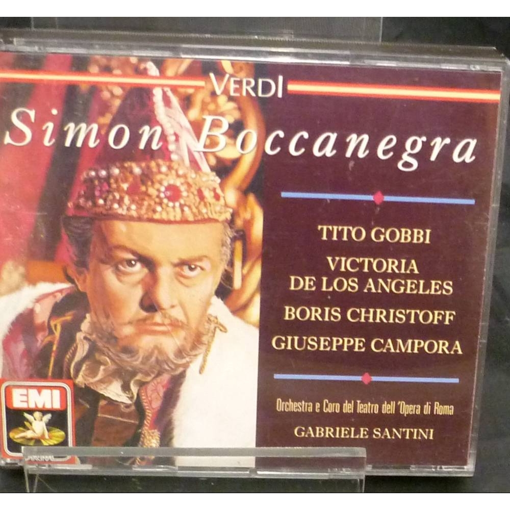Preview of the first image of Verdi - Simon Boccanegra.