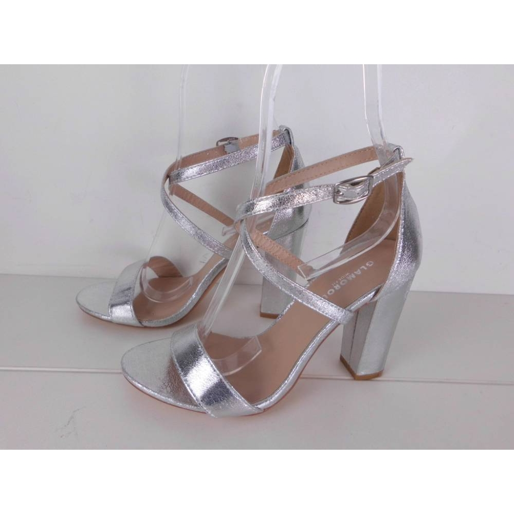 NWOT Glamorous Strappy Sandals Wide Fit