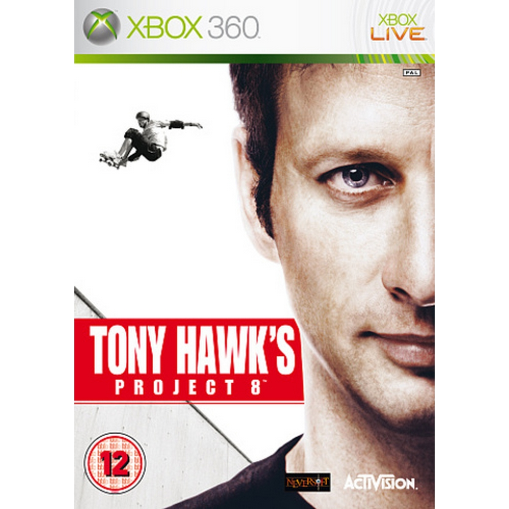 Preview of the first image of Tony Hawk's Project 8 - XBox 360.