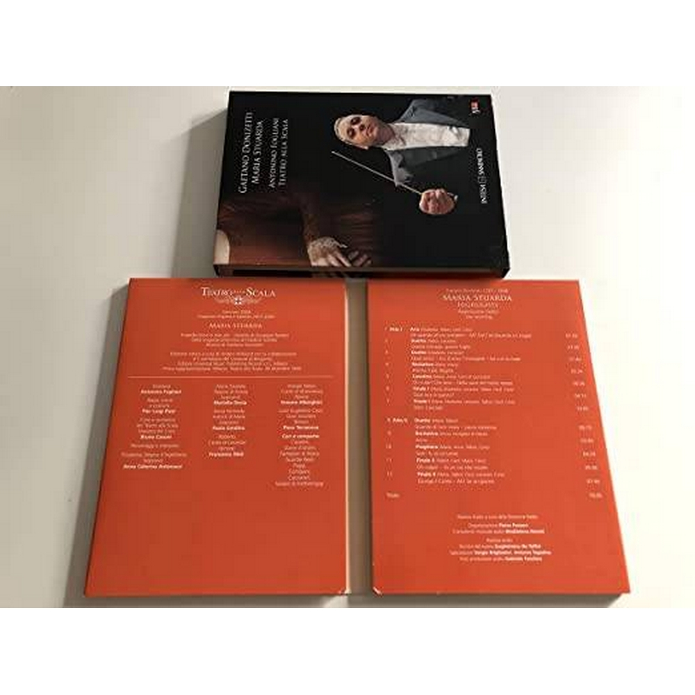 Preview of the first image of Gaetano DONIZETTI - Maria Stuarda Highlights DVD + CD.