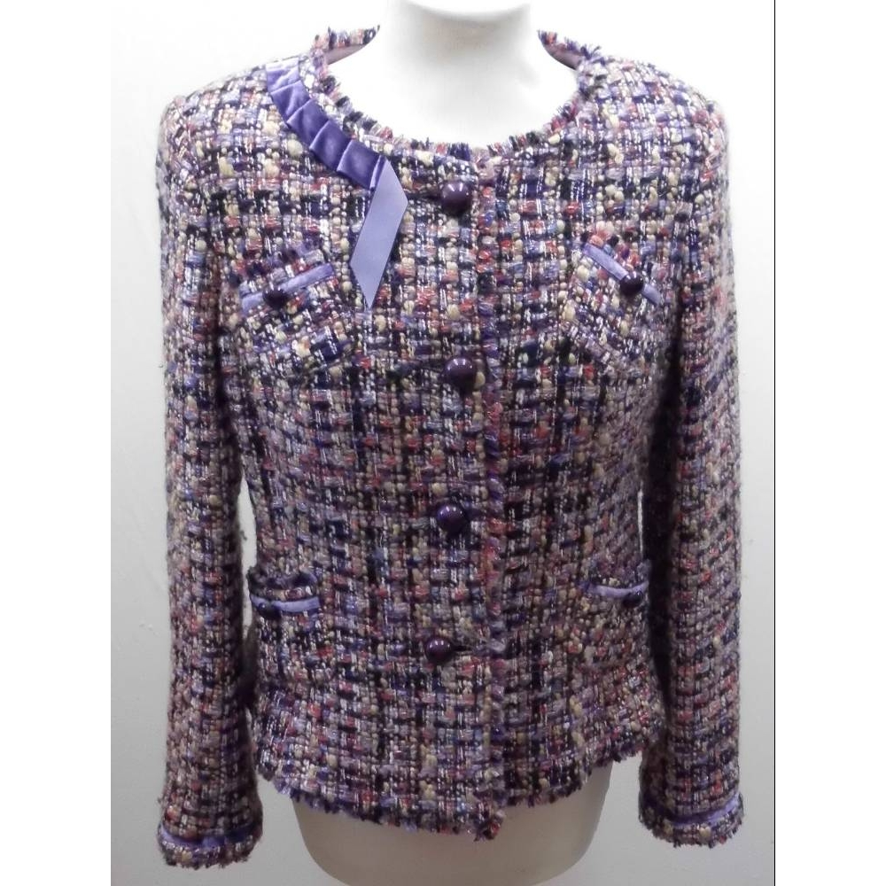 Preview of the first image of Luis Civit jacket Lavender Size: 14.