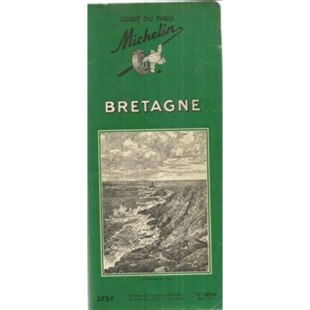 Preview of the first image of Bretagne - Guide Du Pneu Michelin 1953-54.