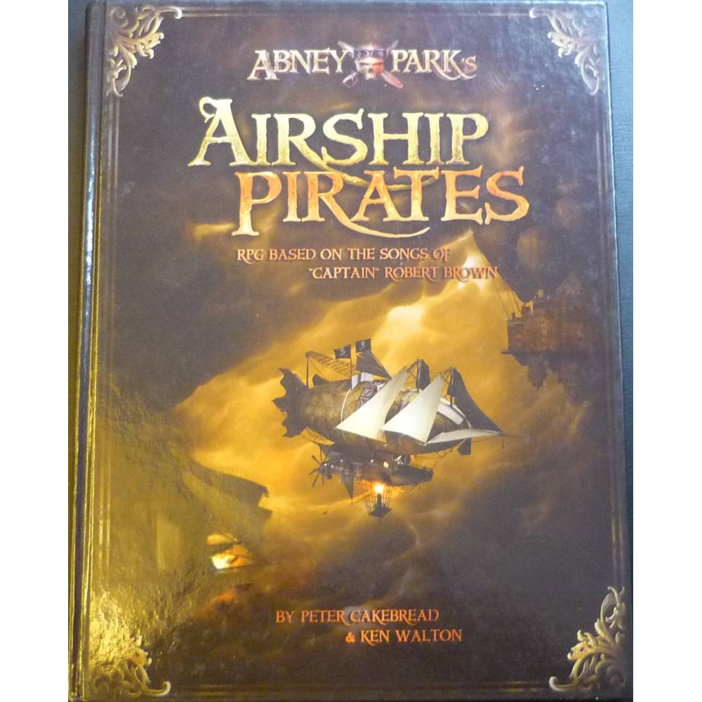 Preview of the first image of Abney Park's Airship Pirates.