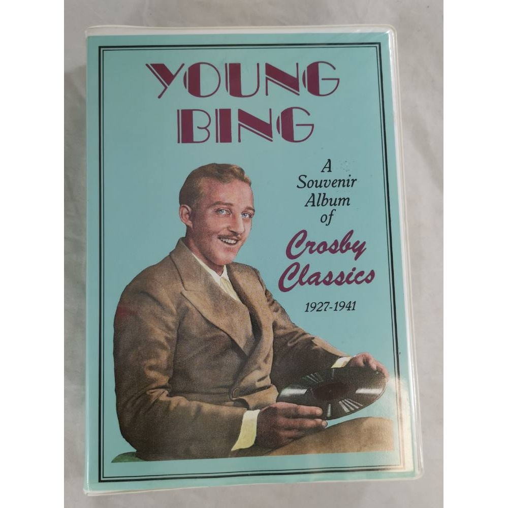 Preview of the first image of Young Bing A Souvenir Album of Crosby Classics 1927-1941 Set of 3 Cassette Tapes.