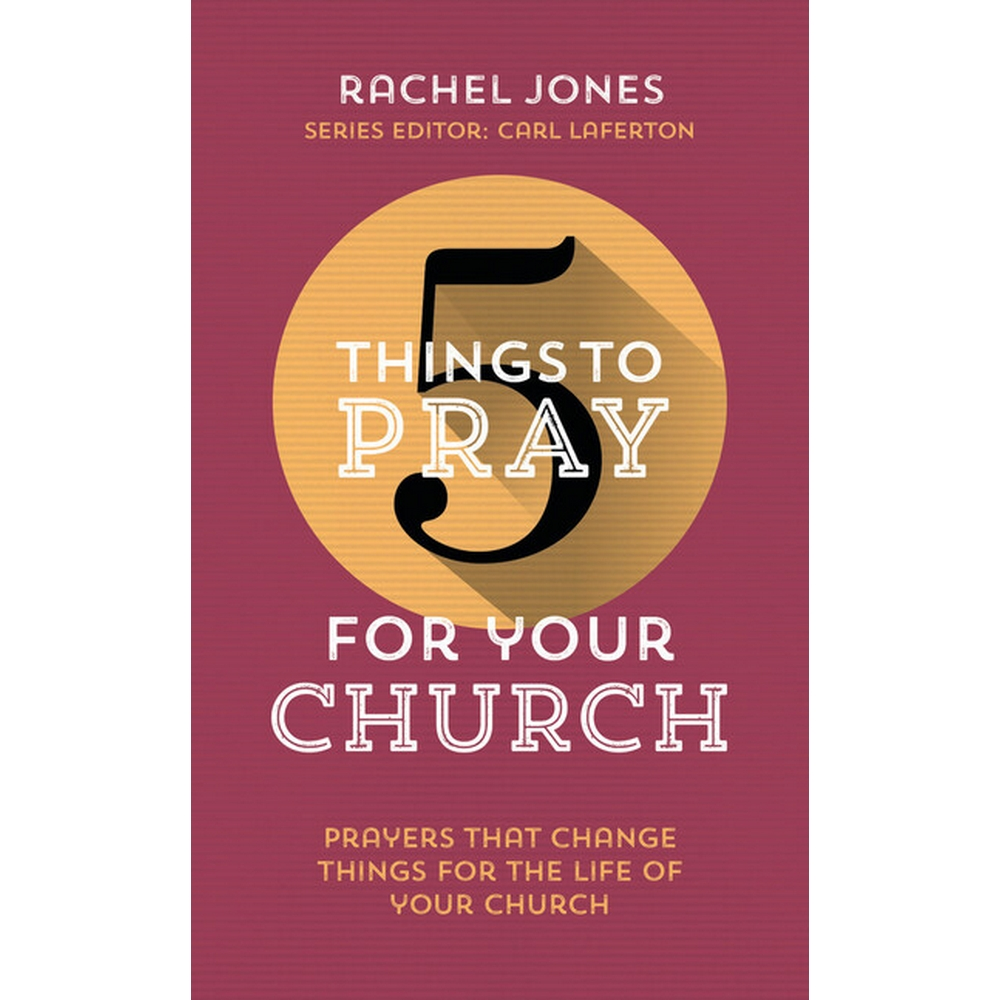 Preview of the first image of 5 things to pray for your church.