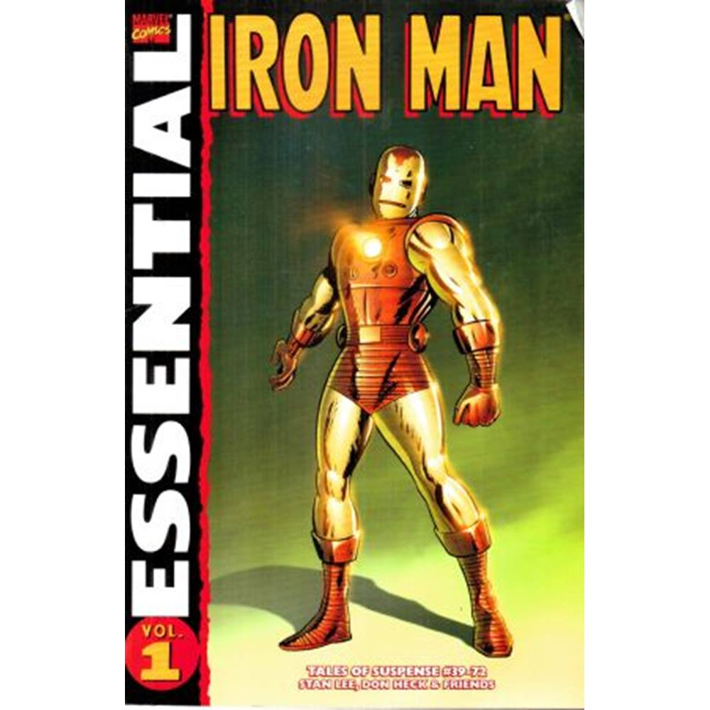 Preview of the first image of Essential Iron Man Vol.1.