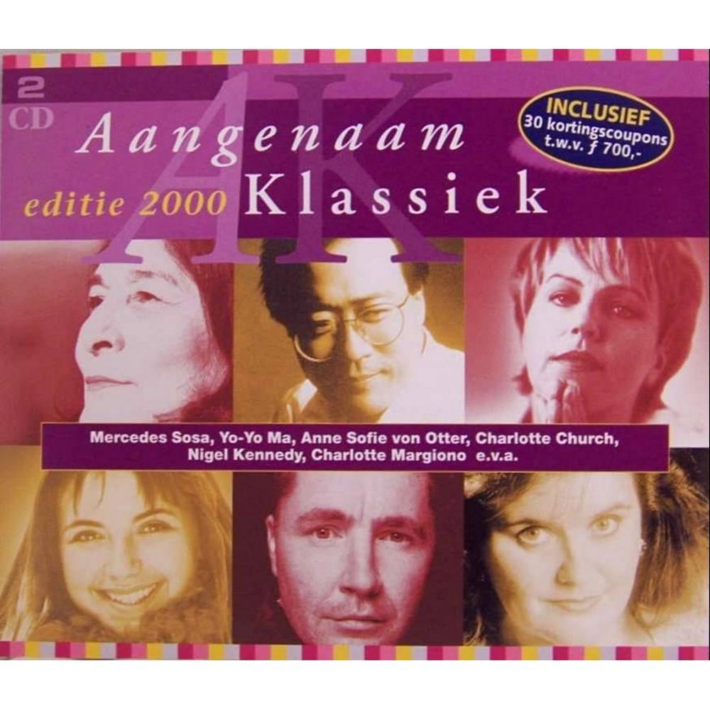 Preview of the first image of Aangemaan Klassiek 2CDs, 2000 ed. feat. Yo-Yo Ma, Charlotte Margiono, Charlotte C, Nigel K etc..