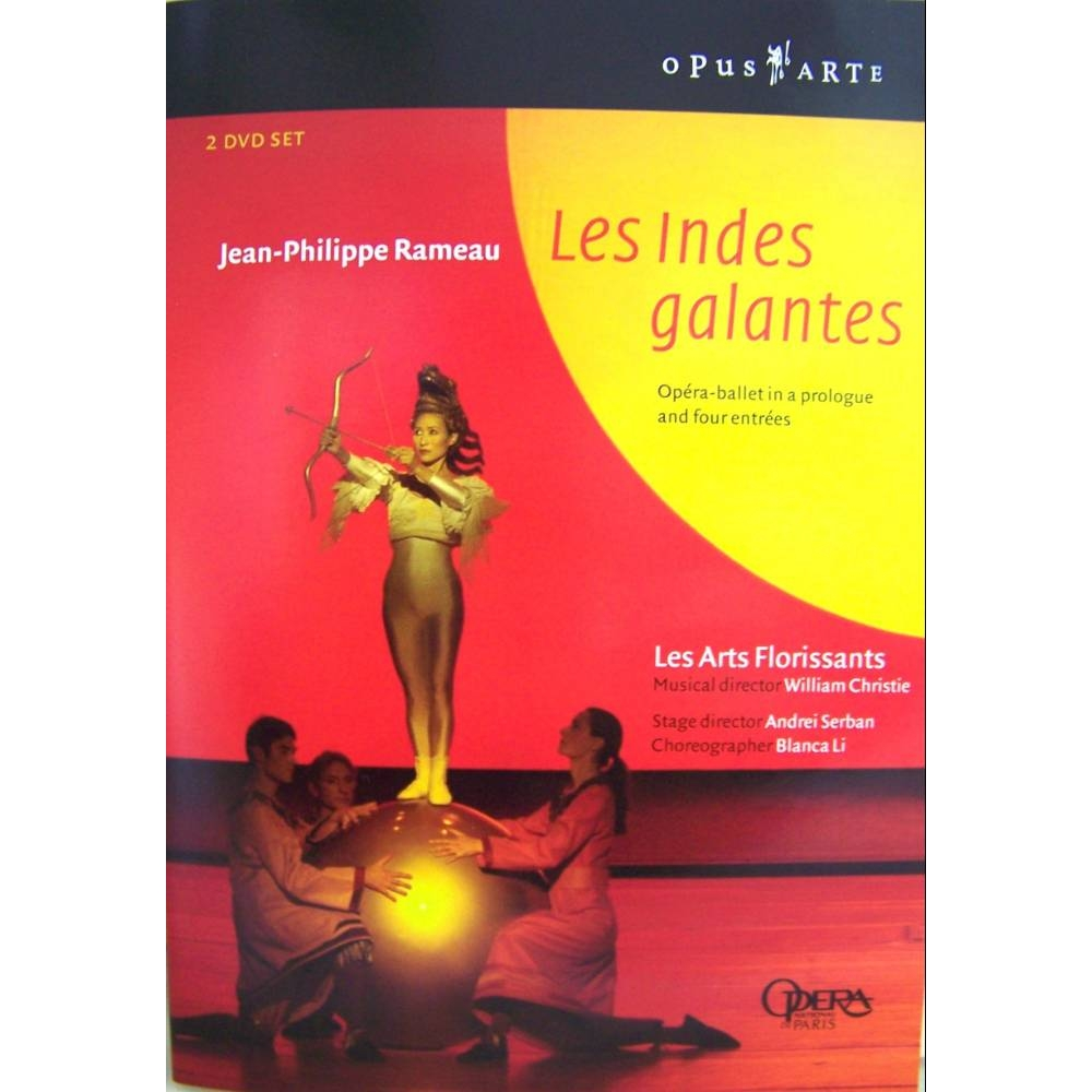 Preview of the first image of Les Indes Galantes - Rameau 2003/05 2DVDs valuable & collectable E.