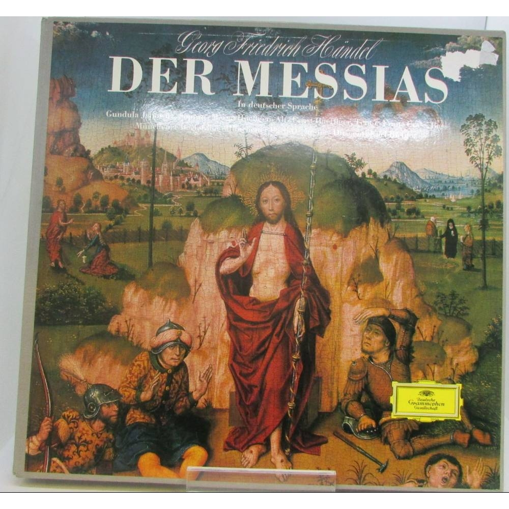 Preview of the first image of Handel,Der Messias,Münchener Bach-Chor,Münchener Bach-Orchester,K Richter ?138 951/53.