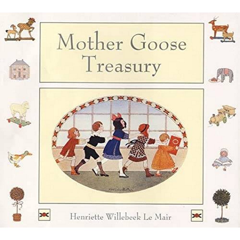 Preview of the first image of Mother Goose Treasury.