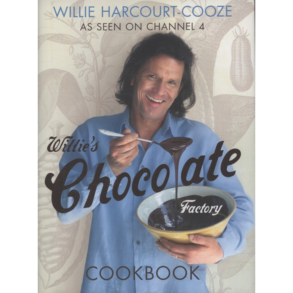 Preview of the first image of Willie's chocolate factory cookbook.