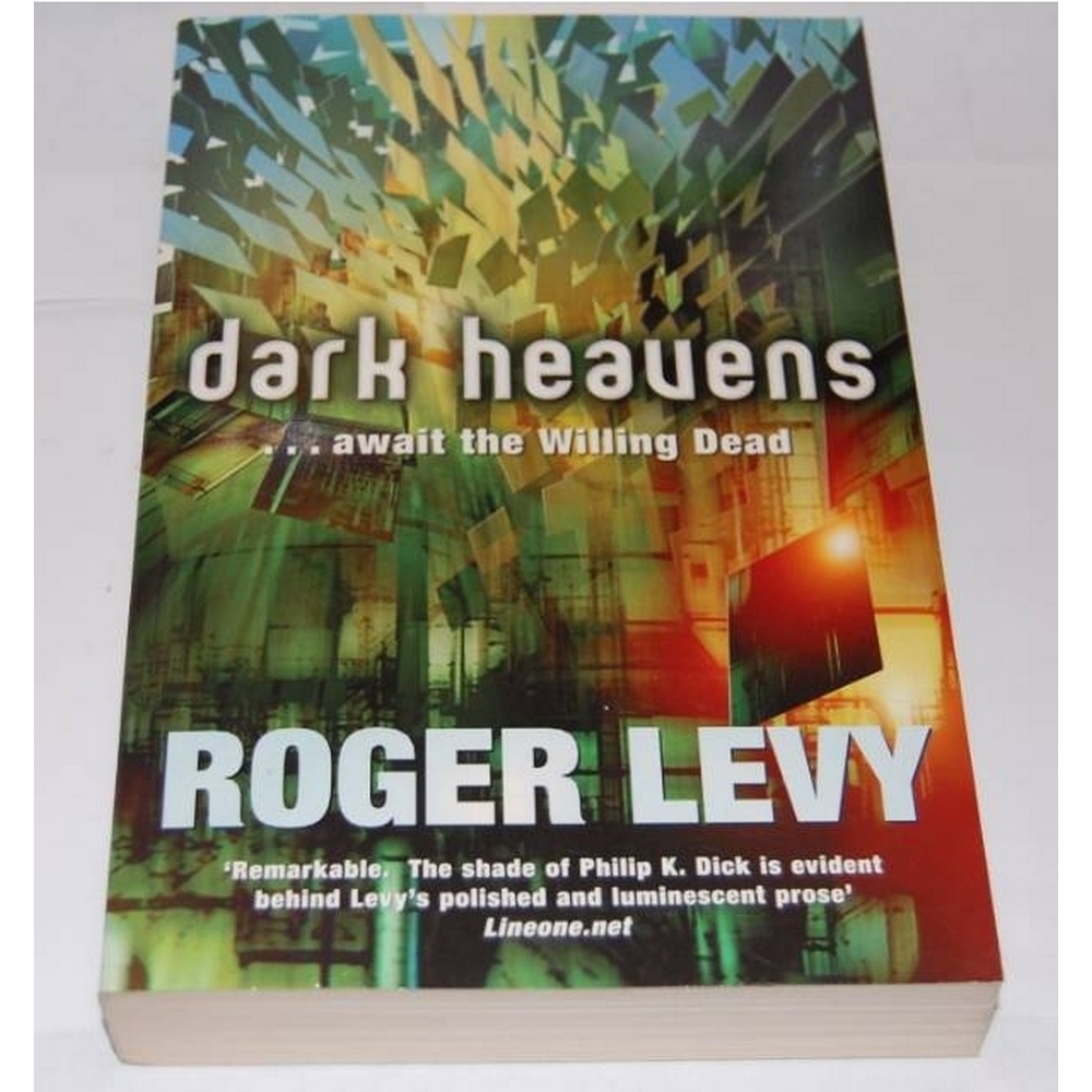 Preview of the first image of Dark Heavens...Await the Willing Dead, Roger Levy SIGNED.
