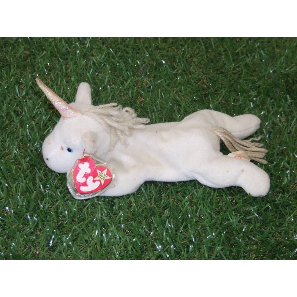 Preview of the first image of Ty - original Beanie Babies Very Rare A Collectable Mystic Retired Unicorn.