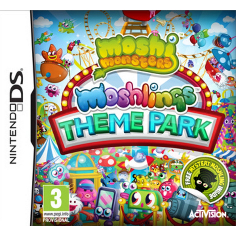 Preview of the first image of Moshi Monsters : Moshlings Theme Park - Age 3+.