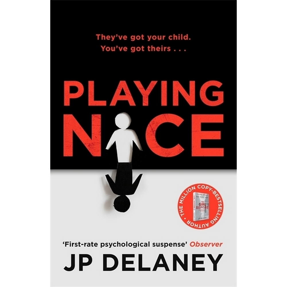 Preview of the first image of Playing nice- JP Delaney-Quercus-Published 2020.