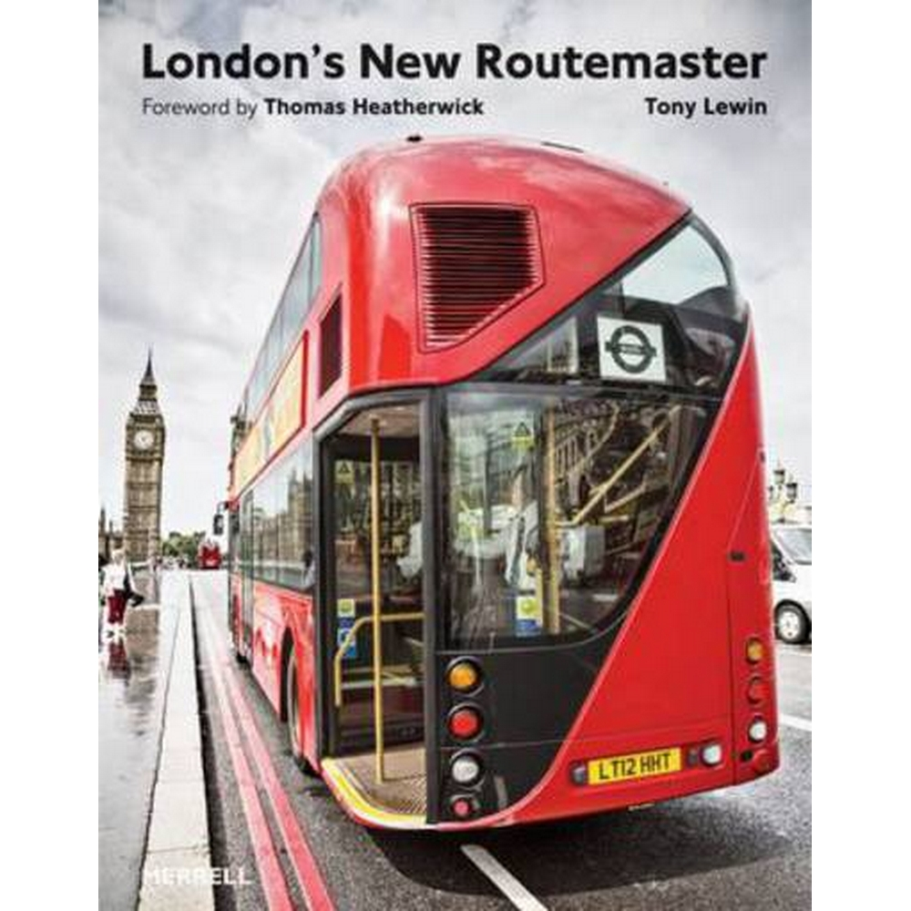 Preview of the first image of London's new Routemaster.