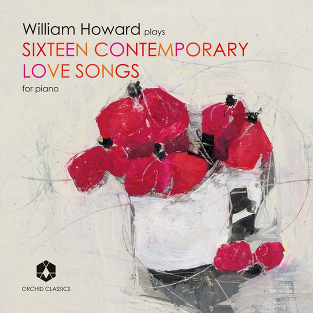 Preview of the first image of William Howard Plays Sixteen Contemporary Love Songs for Piano:.