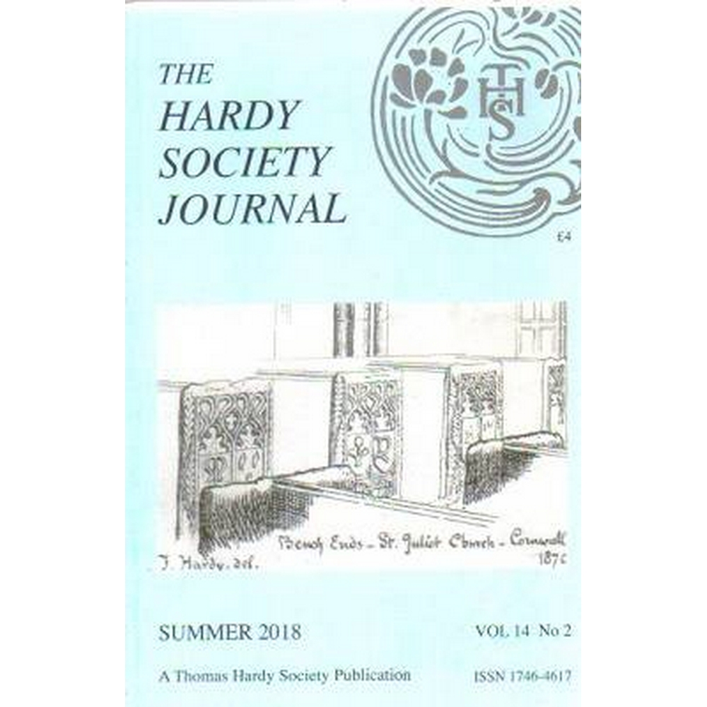 Preview of the first image of The Hardy Society Journal, various issues.