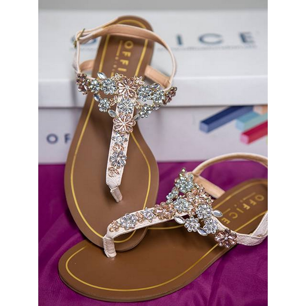 Preview of the first image of Office Embelished Sandal Sapphire Size: 4.